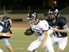 CV Falcons, Kevin Helo, tackles Glendale's quarter back in the first quarter. (Photo by Ed Hamilton / Oct 26, 2012)