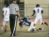 Kyle Tavizon gets the two point conversion in the second quarter against the Glendale Tornados (Photo by Ed Hamilton / Oct 26, 2012)