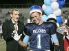 Porter Hansen is crowed king at the Crescenta Valley High School Home Coming game. (Photo by Ed Hamilton / oct26, 2012)