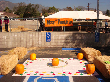 Photos provided by First Baptist Church of La Crescenta Plenty of game booths will be at the festival including Cat and Mouse Golf, Clown Toss, Peanut Drop, Chicken in a Pot, Floating Ducks, Race Car Derby, and Hoop a Pumpkin (above).