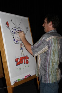 Zot's that? »Dave Shannon creates his intrepretation of the enemy of Zot.