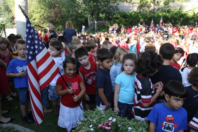 Remembering 9-11 at Fremont Elementary