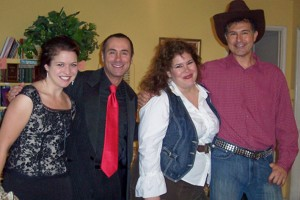 A performance by singers (from left) Jaquie Donley, Tod Macofsky, Sarah Moore and  Robert Burnam kept the audience smiling.