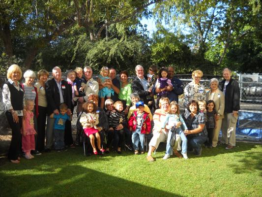 Co-op hosts grandparents