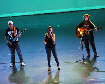 This trio was one of 12 performances at CV's Got Talent last Friday night. Photo by Leonard Coutin