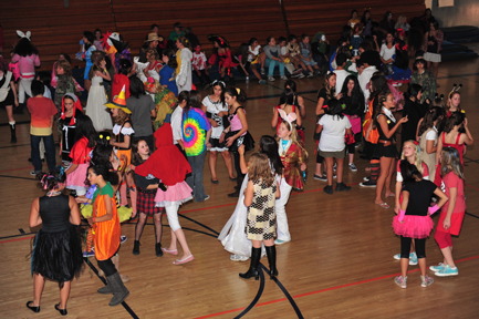 Photos by Leonard COUTIN Dressed in various costumes, Rosemont Middle School students celebrated Halloween on the dance floor after school.   All Halloween photos courtesy Leonard COUTIN, Tricia FLYNN,  Robin GOLDSWORTHY and Mary O'KEEFE