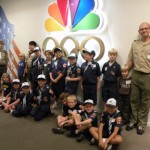 Den visits studio  Cub Scouts from Pack 360 visited KNBC studios last month. The Bear den consists of third grade boys from Dunsmore, Valley View and Mountain Avenue elementary schools. The field trip satisfied the requirement for the boys to visit a TV station and talk to a news reporter, teaching them how information is collected and presented. They watched a live newscast at 11 a.m., witnessed behind-the-scenes production and saw props.