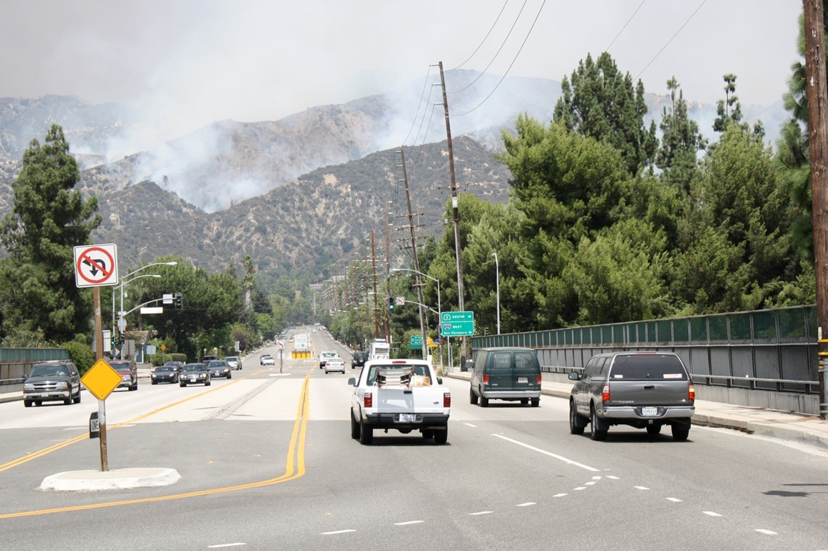 Angeles Crest Highway was closed due to the Station Fire in late August. The popular route from the Palmdale area to La Cañada and the Foothill (210) freeway entrance will once again be open. Photo by Charly SHELTON