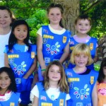 Daisy troop  visits Descanso.  First grade Daisy Girl Scout Troop 14991 from Monte Vista Elementary School enjoyed a field trip to Descanso Gardens. Back row from left are leader Denise Spinoglio, Hannah Tanita, Chloe Lehmann, Elizabeth Doubrovsky and leader Shauna Lehmann. Front from left are Sara Torres, Natalie Franklin, Katie Ward and Jennifer Spinoglio.