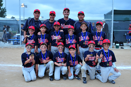 Triple Win for CSA 8U