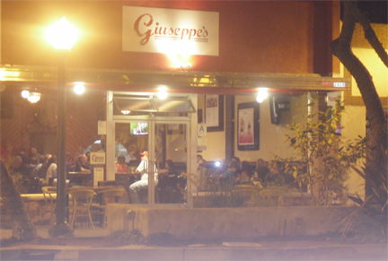 Giuseppe's is a cozy, casual Italian eatery with homemade  pastas, pizza and bread.