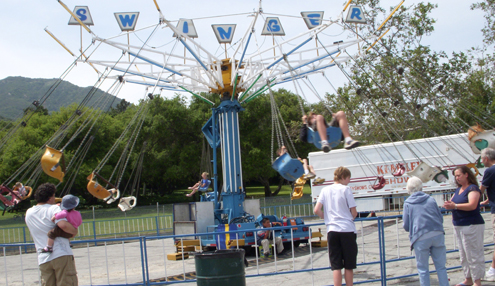 File photo The annual Hometown Country Fair takes place on April 21 at CV Park and will include food, a dog parade and carnival games like the one above from the 2010 event.