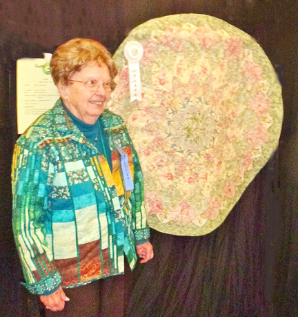 Norbut Places in Quilt Show