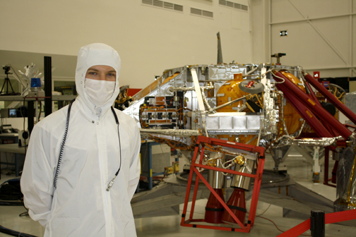 File photo Jet Propulsion Laboratory engineers prepared the Mars Science Laboratory in the clean before the November launch last year. The MSL, Curiosity, will land on Mars Aug. 5.