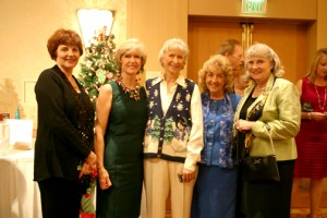 From left, Las Caritas chairman Joyce Gharib, co-chair Gracella Gibbs, guest Sidney Schreiner, Assistance League member Danette Erickson, GUSD board of education member Mary Boger.
