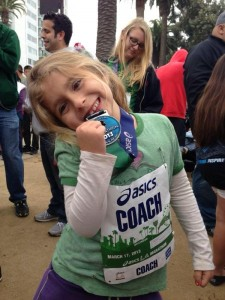 Amir Teymouri's daughter Lilliana shows off her medal