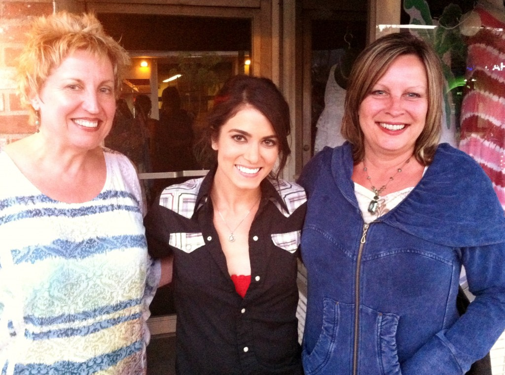 The Revelation sisters and actress Nikki Reed.