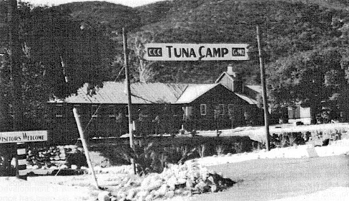 Courtesy of the Historical Society of the Crescenta Valley The Los Angeles City Council approved a motion that would set aside a portion of the grounds of the former Tuna Canyon Detention Station site (shown above) for historical status.