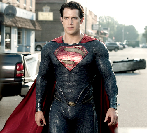 Photo Courtesy Warner Bros.  Henry Cavill in the Man of Steel.