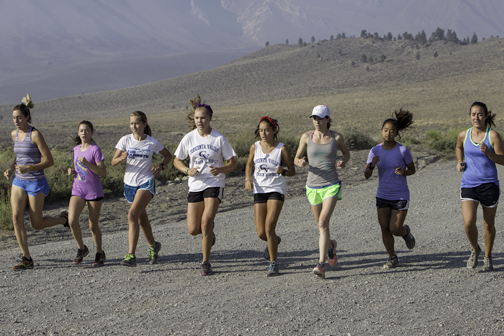 CVHS Cross Country Heads to Mammoth Training Camp