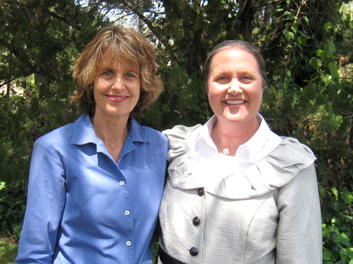 Jennifer Essen and Jane Boessen are the newly elected first and second readers for First Church of Christ, Scientist, La Cañada Flintridge.
