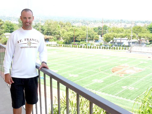 new athletic director welcomed at st  francis