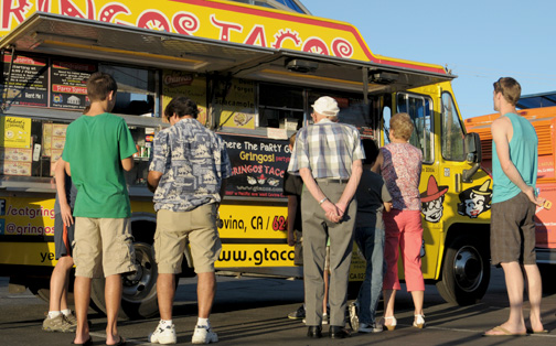 In addition to the music, guests had the chance to purchase food from popular food trucks.