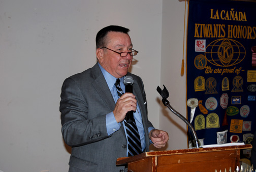 Jeff Young recently addressed the Kiwanis Club of La Cañada on Social Security issues.