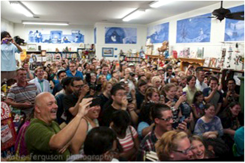 Wow! Check out the folks who love Once Upon A Time Bookstore!
