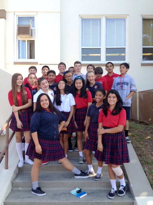 YOUTH HOLY REDEEMER Middle School BTS pics WEB