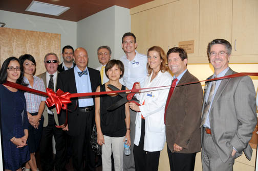 GAMC ophthalmologists, executives and administration with Mayor Dave Weaver.