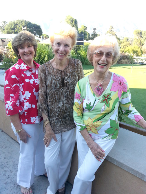 Bobbi Gangi, Diane Russell and Marilyn Butler
