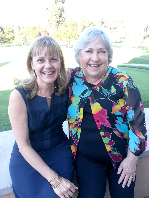 Celebrated were past president Monica Sierra and president-elect Jeannie Flint.