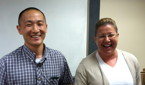Thankful for Officer Abe Chung and North Area Commander Lt. Lola Abrahamian.