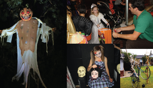 File photos Crescenta Valley gets into the Halloween spirit with haunted houses, Spooktacular walks and decorated homes.