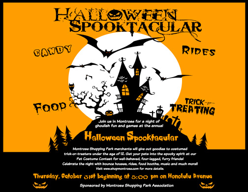 Halloween fun for the whole family tonight starting at 5 p.m.