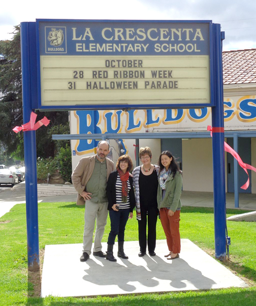 Authors at La Crescenta School