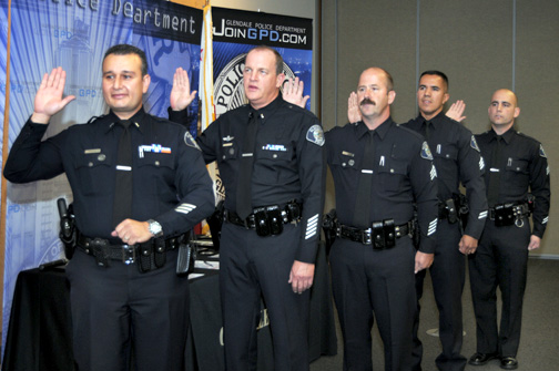 gpd holds promotion ceremony