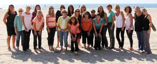 Taking part in the retreat were (back row from left) Jana Van Dyck, Cary Horne, Sloan Walsh, Lynley Gross, Jenn Kliewer, Paige Dunbar, Darlene Dickie, Tracy Tobias, Katrina Harbers, Lynne Graves, Julie Engler, Anne, Bierling, Felina Mahoney, Sarah Walter, Carrie Kingston. In front from left are Mary Van Amringe, Jan Roberts, Nanette Brown, McCall Avery, Sandy Ravana and Julie Hale.