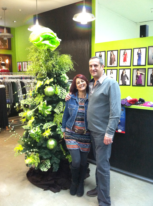 Cute Clothing Market couple Sabu & Maral are celebrating three years in Montrose!