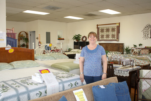 Photos by Mary O'KEEFE The changing landscape of Foothill Boulevard includes the closing of the Pyramid Sleep Store at 3131 Foothill Blvd. in La Crescenta. Owner Denise Lenardson decided to downsize her business.