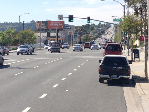 Photo by Charly SHELTON Foothill Boulevard's landscape has changed over the years, with more changes to come in the future.