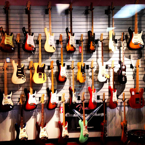 Get 15% off guitars this month at Grayson's Tune Town.