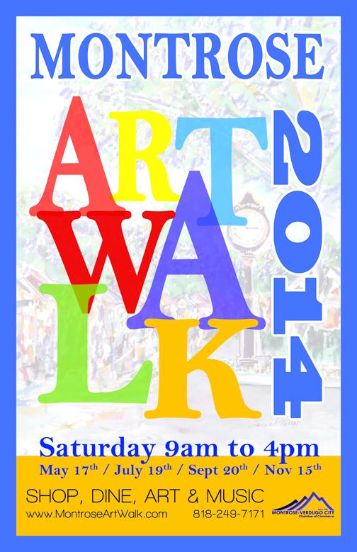 This Saturday is Montrose Art Walk time.