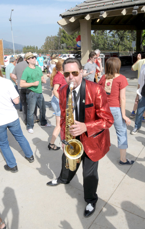 The 2014 season of Music in the Park is kicked off by Captain Cardiac on Monday, May 26 at 4 p.m.