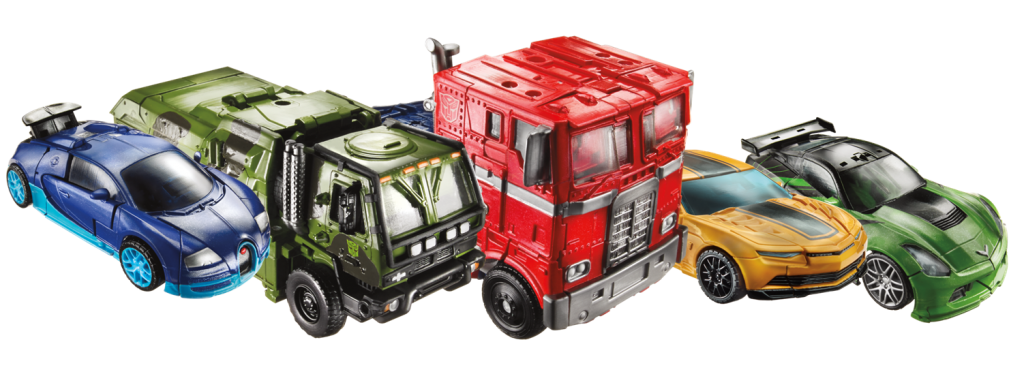 Autobots United vehicles