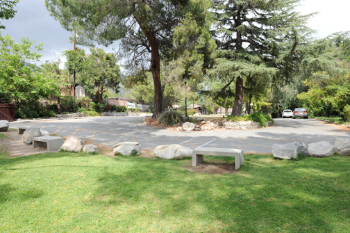 Photo by Leonard COUTIN The park that links Mountain Avenue Elementary to the Sagebrush area has been the subject of emotionally driven negotiations between La Cañada and Glendale unified school districts.