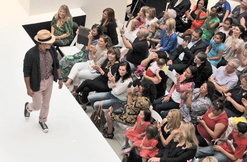 Photos by Dan HOLM A fashion show fundraiser benefiting the recently formed Glendale Fire Foundation was held on Saturday hosted by the Glendale Galleria and Bloomingdale's.