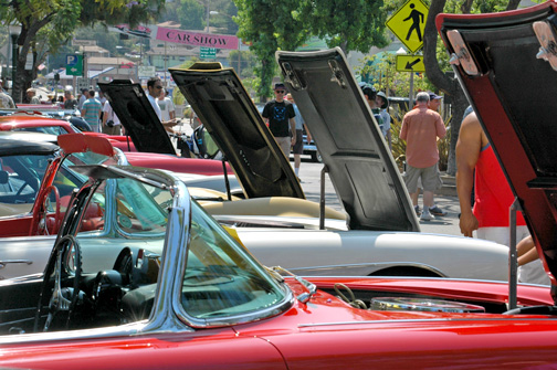 Photo by Dan HOLM More than 12,000 visitors are expected to the 2014 Montrose car show being held on Sunday in the Montrose Shopping Park.