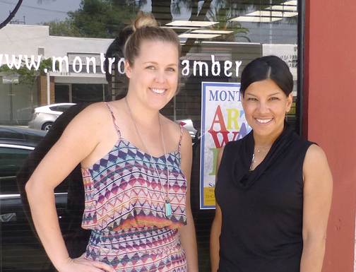 Anna Yagodzinski and Julie Ann Martin are now directing the Montrose-Verdugo City Chamber of Commerce Art Walks.